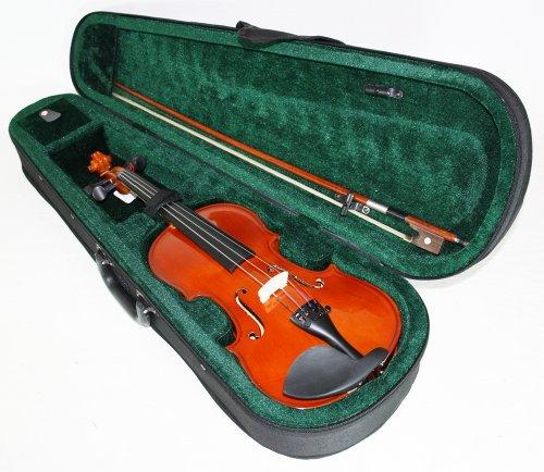 Geige/Violine Garnitur + Koffer & Bogen. 1/4