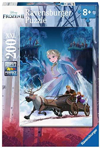 Ravensburger- Puzzle 200 pièces XXL La Reine des Neiges 2 Disney Enfant, 4005556128655