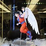 Ylmnku Dragon Ball Z Angel Goku PVC Figuras De Acción 16Cm Dragon Ball Super Anime Son Goku Figurill...