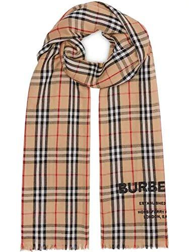 Luxury Fashion | Burberry Heren 8009293 Beige Kasjmier Sjaals | Seizoen Permanent