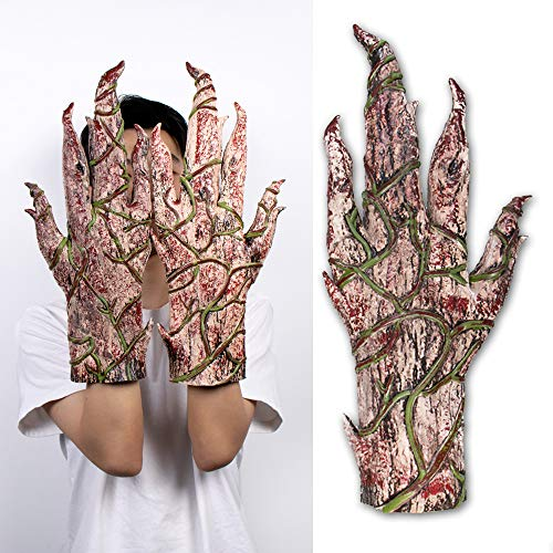 LIUQI Baby Groot Handschuh Walking Baum Groot Cosplay Handschuhe Für Kinder Und Erwachsene Halloween Kostüm Party Zubehör
