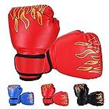 rongweiwang Bambini I Bambini Kickboxing Formazione Guantoni da Boxe Sandbag Sport da Combattimento MMA Boxing Glove