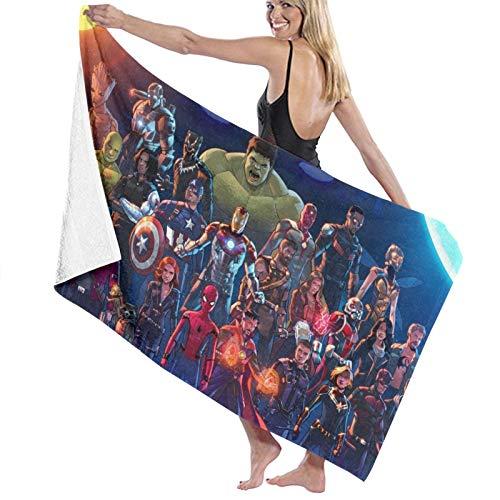 Avenger Hulk Iron Man Groot Strandtuch Badetuch Sport Einsatz schnelltrocknend saugfähig leicht Handtuch Decke Schwimmen Strand Fitness Bad