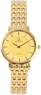 Analog Stainless Steel Watch For Women by Olivera, OL5002