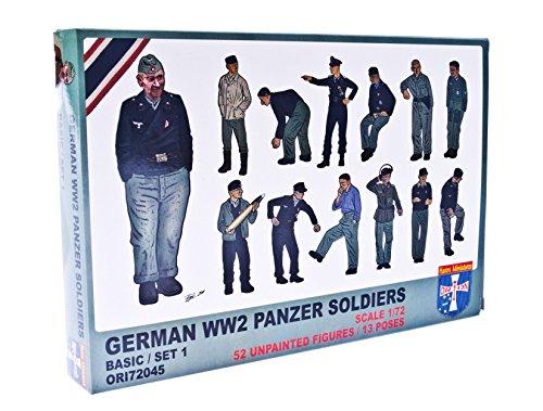 ORION ori72045 – Modèle Kit WWII German Char Soldiers, Lot de 1