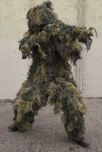 Ghillie Suit Anti-Fire 4 Teilig