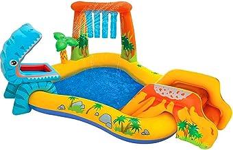 QAZ Piscinas Inflables, Piscina Hinchable, Piscina Infantil Inflable, Piscina Familiar, Fiesta AcuáTica De Verano para Niños, Adultos, Jardín con Tobogán (Color : H)