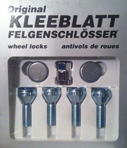 RADSCHRAUBEN SATZ - TYP 939 - 334.78.38 - M12X1.5X25 KEGEL FELGENSCHLOSS - Kleeblatt Felgenschlösser / Schlossbolzen -