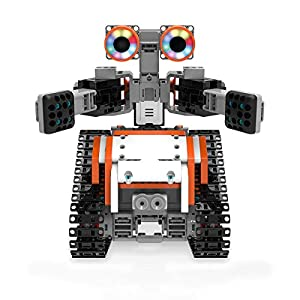 UBTECH JIMU Robot Astrobot Series: Cosmos Kit / App-Enabled Building and Coding STEM Learning Kit (387 Parts and…