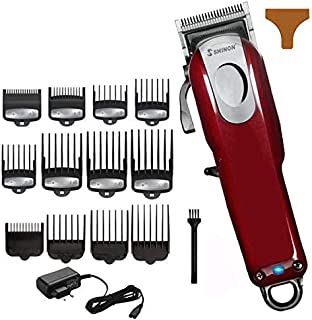 Haircut Hair Clippers, Rechargeable Hair Clippers For Men, Low Noise Electric Hair Trimmer For Adults And Children And Barber Shops Maintain your hairstyle (Size : 12pcs guide comb)