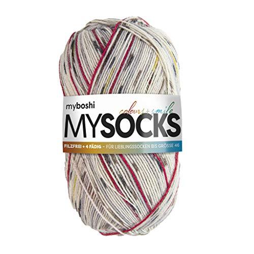 myboshi Sockenwolle | mysocks | filzfrei | 4-fädig | 2023