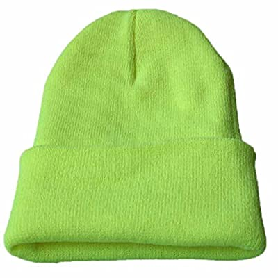 KFSO Clearance! Beanie for Women and Men - by Unisex Cuffed Plain Skull Toboggan Knit Hat and Cap