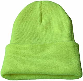 COJOP Smiley Winter Beanie Unisex Cuffed Plain Skull Knit Hat Cap