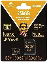Sponsored Ad - 256GB V30 A1 Micro SD SDXC Memory Card Plus Adapter Pack (Class 10 U3 UHS-I MicroSD XC Card) Amplim Extreme...