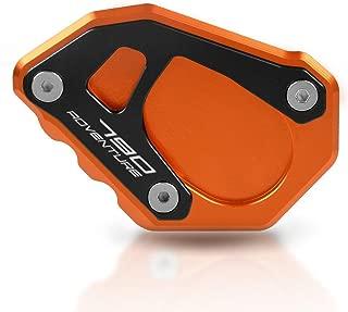 BiuZi Motorcycle Adjustable Kickstand Universal Aluminum Alloy Adjustable Kickstand Foot Side Stand Tripod Holder
