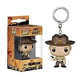 LiQi Llavero de Bolsillo Pop: The Walking Dead - Rick Grimes...