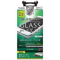 Simplism iPhone6s / 6 [FLEX 3D] 立体成型 フレーム ガラス フィルム ホワイト TR-GLIP154-F3CCWT