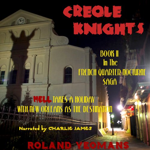 Creole Knights audiobook cover art