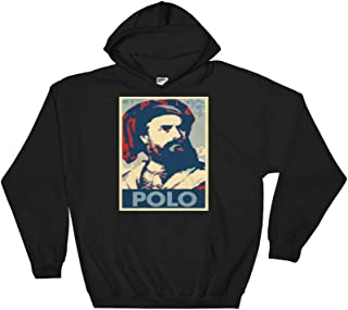Political Parody with Marco Polo Hoodie