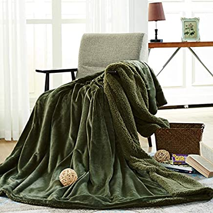 Mjdynasty Double-Layer-Decke Flanell Composite-Decke Casual Decke, Achat grün, 150  200 B07GDK1MS4   Erste Kunden Eine Vollständige Palette Von Spezifikationen