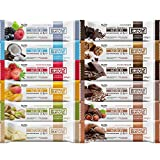 PROLIVE 40 30 30 BOX 12 – Barretta Proteica Bilanciata, Senza Zuccheri Aggiunti, Croccan...