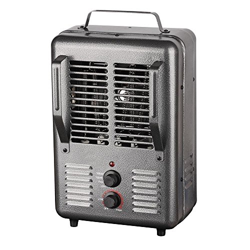 KING PHM-1 Portable Milkhouse Heater, 1500W / 120V