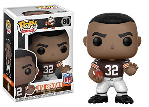 Funko POP NFL: Jim Brown (Browns Home) Collectible Figure