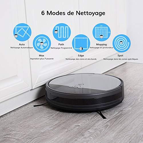iLife Staubsauger-Roboter V8s, geplante Reinigung, moderne Technologie zur Reinigung von Haustierhaaren, ohne Verheddern - 3