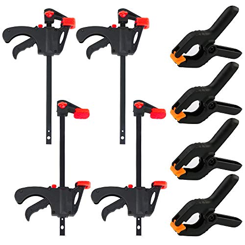 Wood Pole Clamp, Quick Grip Clamps and Heavy Duty Nylon...
