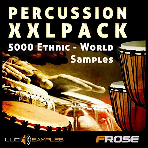 Percussion Instrumenten aus aller Welt! 1,13 GB / 5224 Samples In Studios aufgenommen, oder Cut From Vinyls. Welt-und Ethnic Percussion Samples | DVD non BOX