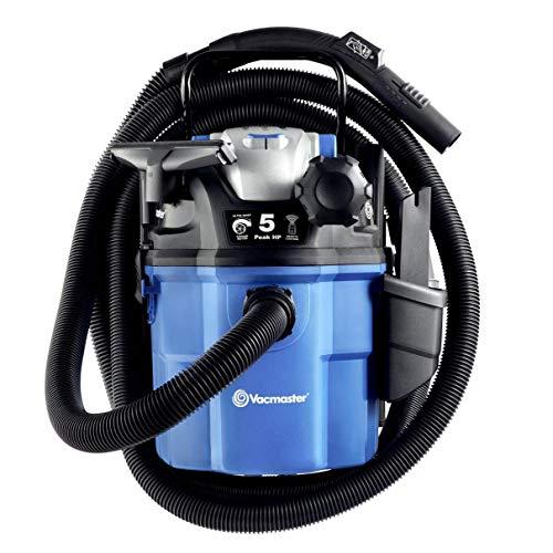Vacmaster VWM510 5-Gallon Remote Control Wall Mount Shop Vac