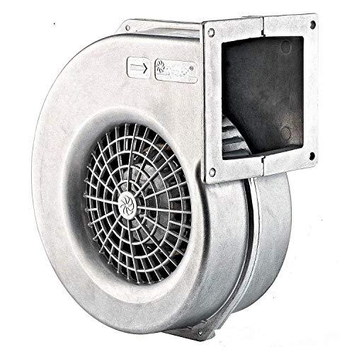 Uzman-Versand AG-160E Radiallüfter, ALU Zentrifugal Gebläse Lüfter Ventilator Radialgebläse Druckgebläse Holzvergaser Radial Axial