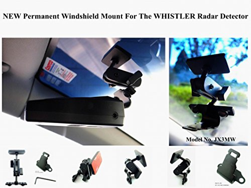 Best Price Nice, New Designed Permanent Windshield Mount for The Whistler Radar Detector