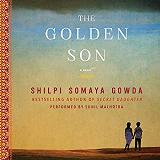 The Golden Son audiobook cover art