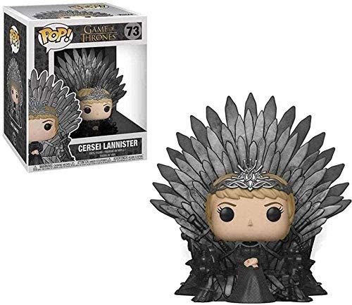 yumeng Juego de Tronos Pop: Cersei Lannister Throne version en Caja Adornos coleccionables Juguetes de Figuras de accion de Vinilo de 10