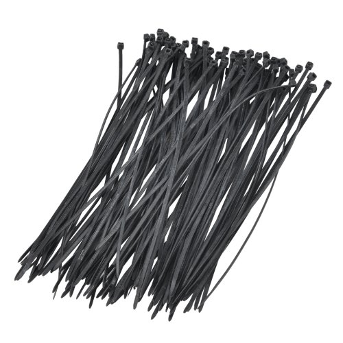 ebest-Nylon Zip Fascette autobloccanti Gardner Bender 2.5mm x 200mm, 100/set, Nero