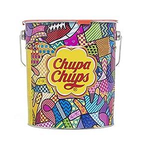 Chupa Chups Original, Caramelo con Palo de Sabores Variados, Lata de 150 unidades de 12 gr. (Total 1.800 gr.)