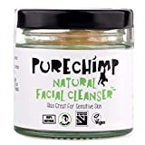 Detergente Viso Naturale (Detergente Super Naturale)80g by PureChimp - 100% naturale, vegano e fatto a mano nel Regno Unito - Ottimo anche per la pelle sensibile - Con estratto di banana