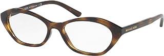 Michael Kors MINORCA MK4052 Eyeglass Frames 3285-52 - Dark Tortoise MK4052-3285-52