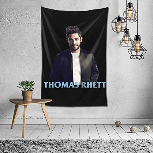 Tapiz de Thomas Rhett para Colgar en la Pared, tapices artísticos, decoración para Dormitorio, Sala de Estar, Dormitorio