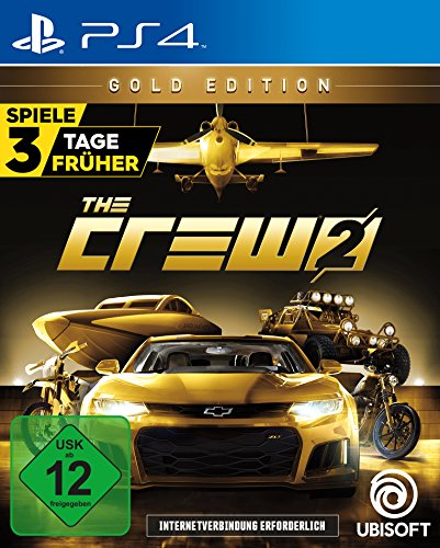 The Crew 2 - Gold Edition (inkl. Season Pass) - PlayStation 4 [Edizione: Germania]