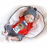 Nicery Reborn Baby Doll Renacer Bebé la Muñeca Simulación de Vinilo Duro de Silicona 22 Pulgadas 55c...