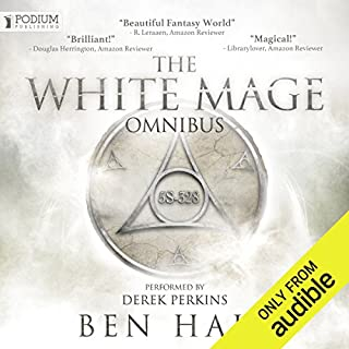 The White Mage Omnibus: Books 1-3                   By:                                                                                                                                 Ben Hale                               Narrated by:                                                                                                                                 Derek Perkins                      Length: 32 hrs and 27 mins     3,457 ratings     Overall 4.5