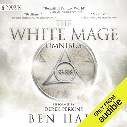 The White Mage Omnibus: Books 1-3 audiobook cover art