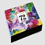 SFBBBO lapices de Colores 48/72/160 Colores lápices de Colores de Agua para niños Juego de lápices de Colores de Madera Lápices de Color al óleo para Estudiantes de la Escuela de Arte Oil72Color