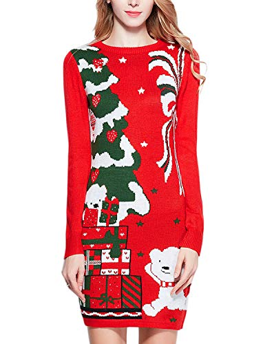 Funny Vintage Ugly Christmas Sweater for Women