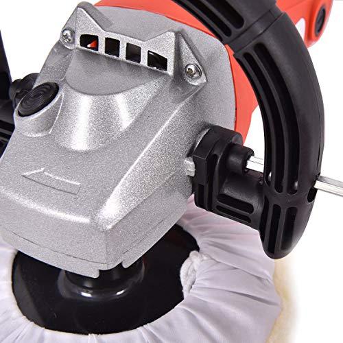 Affordable Mandycng Home DIY Garage Car Paint Polisher Kit Adjustable Speed 7 Disc D-Shape Handle B...