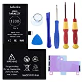 Batterie Aslanka pour iPhone X 3300mAh, Remplacement Haute capacité, 21.5% de Plus Que Les Autres...