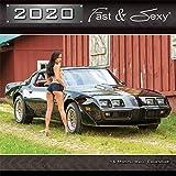 2020 Fast & Sexy Car Girl Wall Calendar 12x12 inches (PG Version)