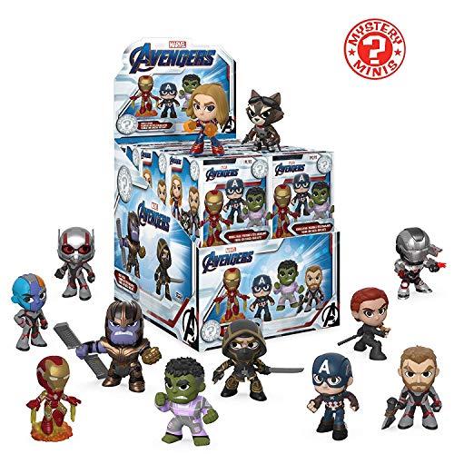 Funko Mystery Minis: Avengers Endgame (Case of 12 Figures)